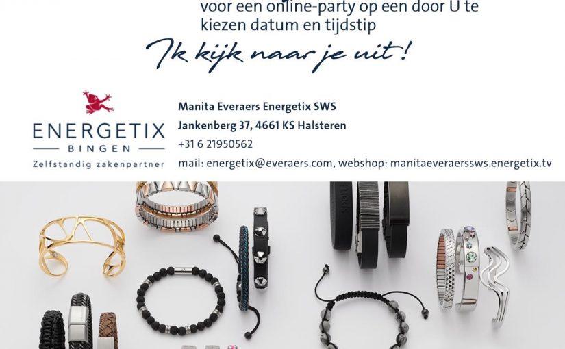 """Manita Everaers – Lindhout: """"ENERGETIX sieraden zijn een streling voor het oog en een heling voor het lichaam!"""""""
